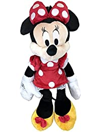 "Disney Minnie Mouse Plush Backpack 18"" Soft"