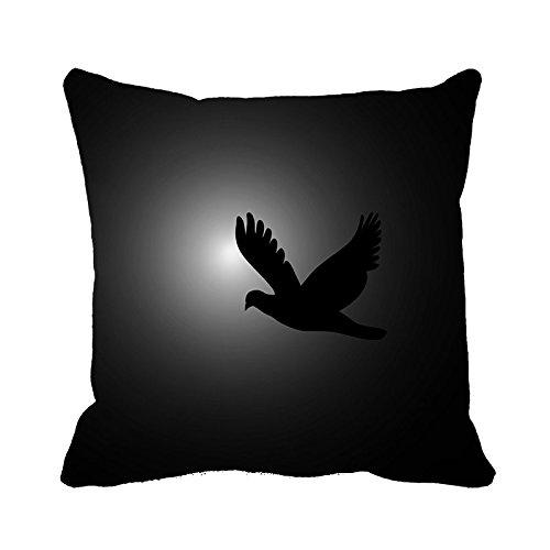 yinggouen-black-bird-decorate-for-a-sofa-pillow-cover-cushion-45-x-45cm