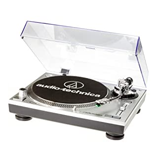 Audio-Technica AT-LP120USBHC USB Turntable with HS10 Headshell - Silver