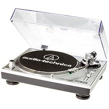 Audio Technica AT-LP120USB - Tocadiscos para equipo de audio, plateado