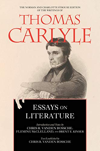 Essays on Literature (Norman and Charlotte Strouse Edition of the Writings of Thom, Band 5)