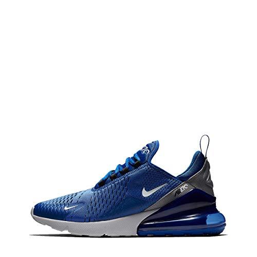 official photos cfb2c e8809 NIKE Sneakers Air Max 270 Blu Grigio Bianco AH8050-404 (44 - Blu)