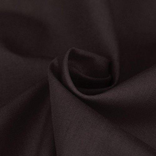 J - NEGOZIO Abbigliamento Uomo, T Shirt Uomo Maniche Lunghe Camicia Uomo, T-Shirt Casual a Manica Lunga da Uomo Slim Fit Marrone