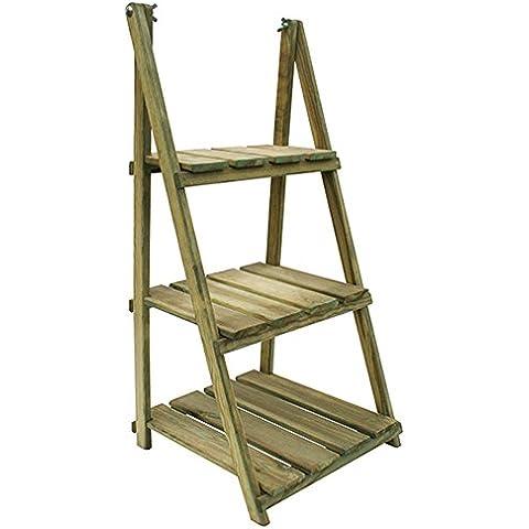 Forest-style M292772 - Estanteria madera plegable tchikita