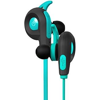 BlueAnt Pump Lite Bluetooth Wireless Sport In- Ear Headphones - Teal