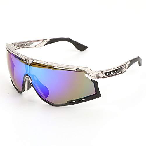 WeiJX Sport Polarisierte Sonnenbrille UV-Schutz Sonnenbrille Laufen Golf Angeln Wandern Baseball 0020 Fahren Sonnenbrille Shades für Männer Frauen,C