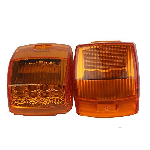 Autodach Licht, HEHEMM 17 LED Standlicht Hersteller Licht Tagfahrlicht Markierungsleuchten Oberes Dach Leuchte Dachkabine Seitenlichter für LKW Anhänger Kipper Sonderfahrzeug (2 STÜCK)