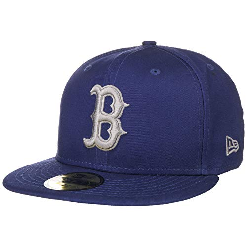 New Era Boston Red Sox League Essential Royal Blue Cap 59fifty 5950 Fitted Limited Edition Royal Blue Cap