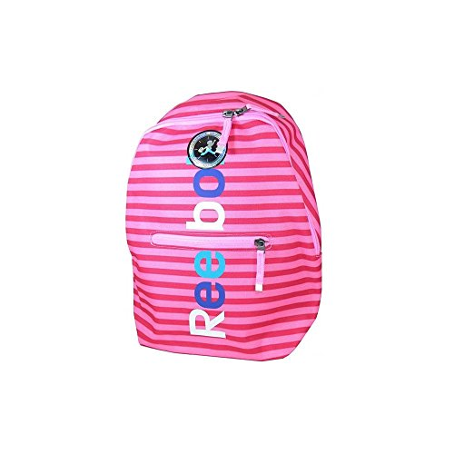 Reebok BTS GR BCKP 3 - Mochila para niñas, color rosa / azul / blanco, talla única