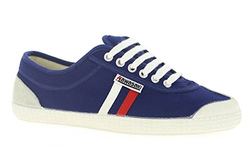 Kawasaki - Rainbow Retro, Sneakers unisex, color Blu (Navy, 90), talla 38