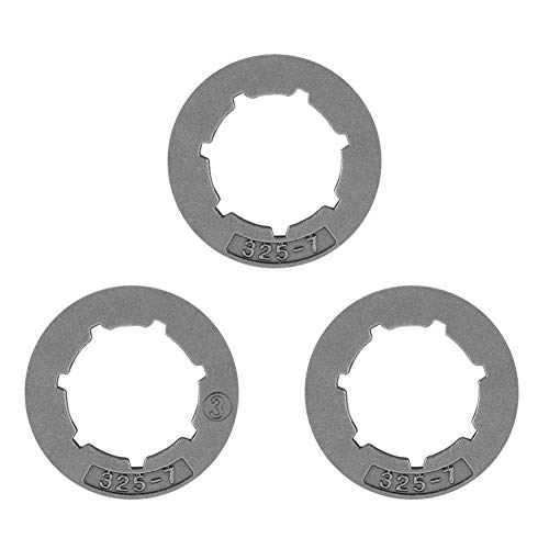 325-7 Zähne Kleines Ritzel für Stihl 028 029 034 039 MS290 MS310 MS390 Ersatzteil für Kettensäge 3 Stück -