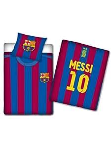 Original Barcelona FC FCB Bettwäsche Leo Messi Trikot 140x200 ÖkoTex Standard 100 Baumwolle NEU OVP 2013