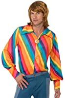 Smiffy's 1970s Rainbow Colour Shirt