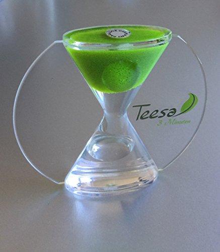 Tee-Sanduhr - Tea-Timer - Egg-Timer - 3min - acryl - Lupe