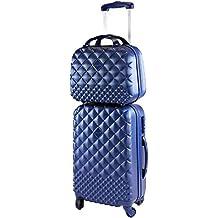 3b7824117d Camomilla Milano set valigia 46lt + vanity case 12lt blu