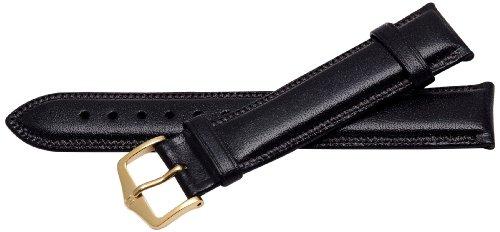 Bernex Ascot Unisex-Armbanduhr mit schwarzem Lederarmband GB42175