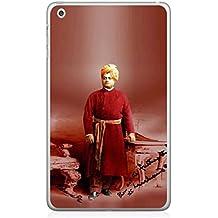 Fuson Designer Back Case Cover for Apple iPad Mini 4 :: Apple iPad Mini 4 Wi-Fi + Cellular (3G/LTE); Apple iPad Mini 4 Wi-Fi (Wi-Fi, W/o GPS) (Swami ramkrishna paramhans Kolkata)