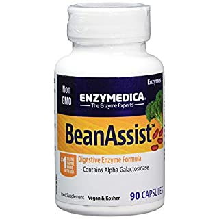 Enzymedica Bean Assist Dietary Supplement Capsules, 90-Count