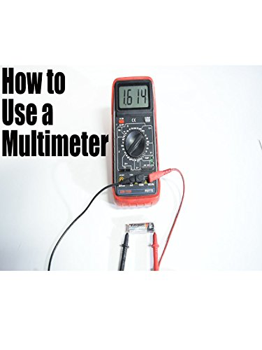 How to Use a Multimeter for Beginners - How to Measure Voltage, Resistance, Continuity and Amps [OV]