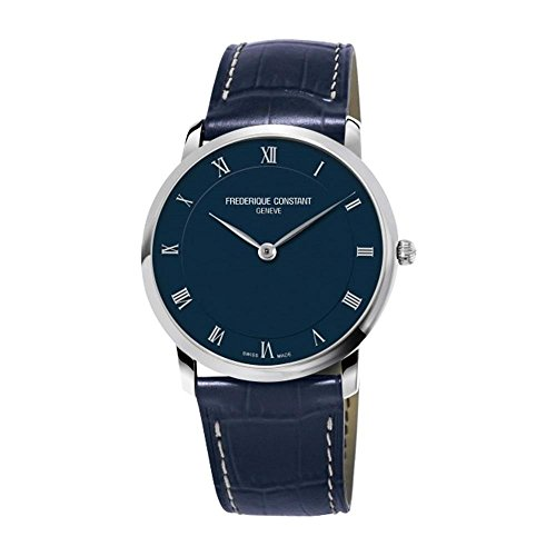 frederique-constant-mens-slim-line-39mm-blue-leather-band-steel-case-quartz-analog-watch-fc-200rn5s3
