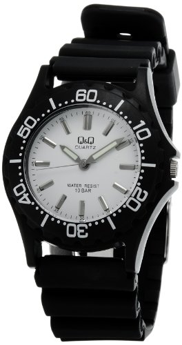 Q&Q Standard Analog White Dial Men's Watch - VP02-005 image