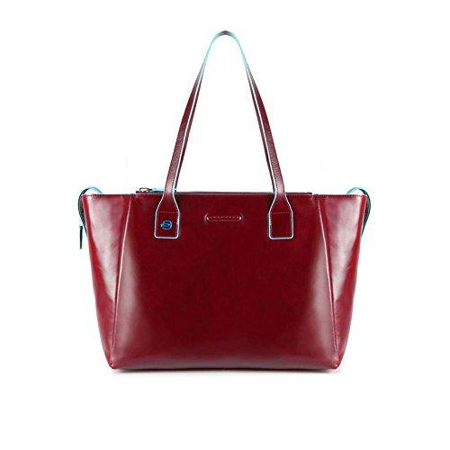 Piquadro Square Cartella, 46 cm, Rosso