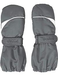 Playshoes Unisex Fäustling warme Winter-Handschuhe mit Klettverschluss