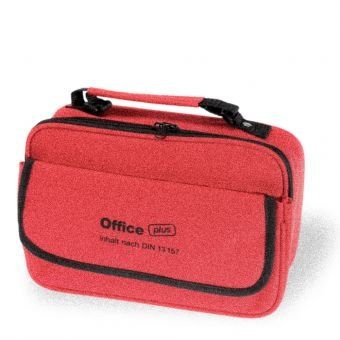 Office Plus Trousse de secours DIN 13 157 + livre Association + Stylet