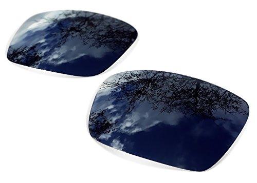 sunglasses restorer Ersatzgläser für Oakley Gascan, Polarisierte Linsen (Grey, Polarisierte)