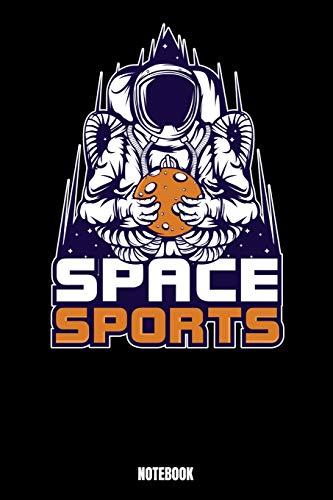 Space Sports Notebook: Astronaut Notizbuch: Notizbuch A5 karierte 110 Seiten, Notizheft / Tagebuch / Reise Journal, perfektes Geschenk für Sie, Ihre ... zu sein. Perfekt für Liebhaber der Wissensc