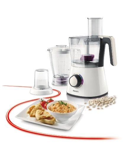 comprare on line Philips HR7761/00 Robot da cucina 3 in 1, Multifunzione con Frullatore + Tritatutto, 750 W- Viva Collection - prezzo