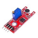 BliliDIY 3Pcs Mikrofon Voice Sound Sensor-Modul Für Arduino