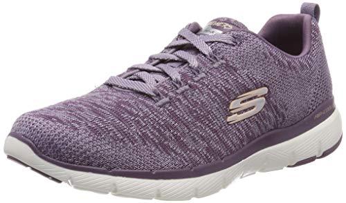 Skechers Damen Flex Appeal 3.0 Sneaker, Violett (Plum), 38 EU - Skechers-damen-mode