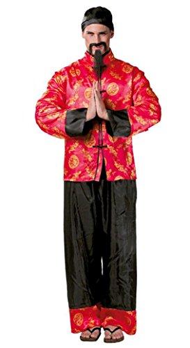 KOSTÜM - MANDARIN - Größe 48-50 (M) (Chinese Mandarin Kostüm)