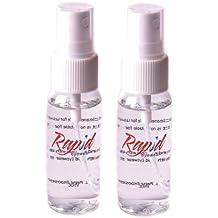 Rapid Eyewear 2 x Produit nettoyant spray – Non-toxique, sans alcool,  Antistatique cc1f7866e260
