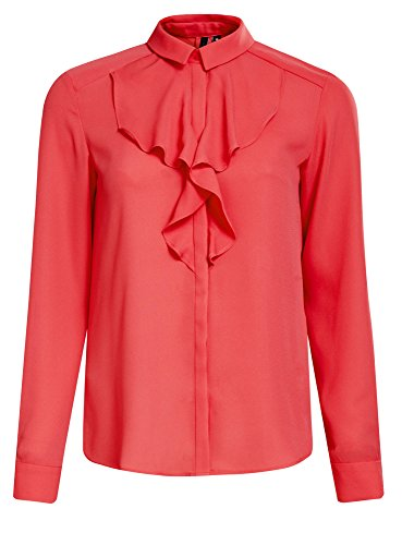 oodji-collection-womens-flounce-blouse-in-flowing-fabric-pink-uk-12-eu-42-l