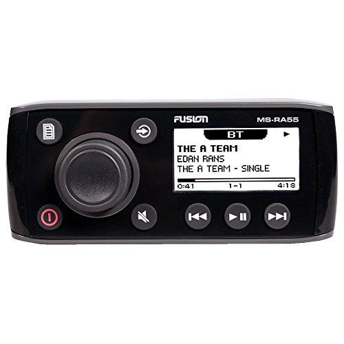 Fusion MS-RA55– Boot-Radio, Stereo, Schwarz Marine Radio Gehäuse