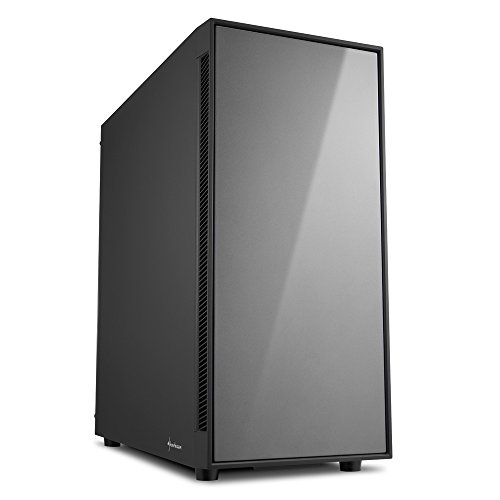 Sharkoon AM5 Silent PC-Gehäuse Titanium