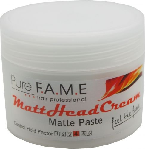 Pure Fame Matte Head Cream 100 ml Mattpaste für mehr Volumen & einen spektakulären Matteffekt