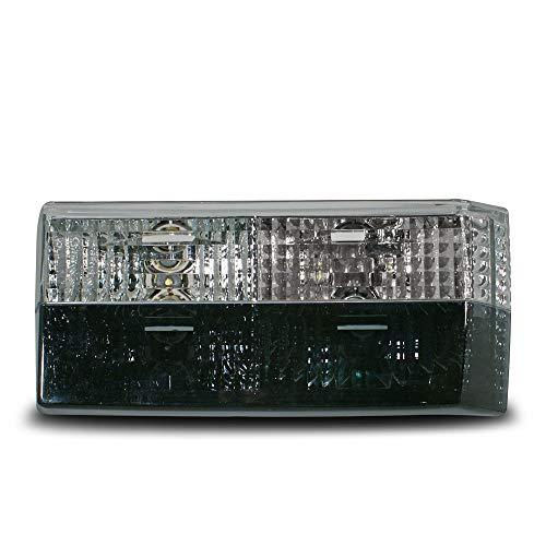 JOM 80259 Rückleuchten Kristallglas schwarz-Weiss