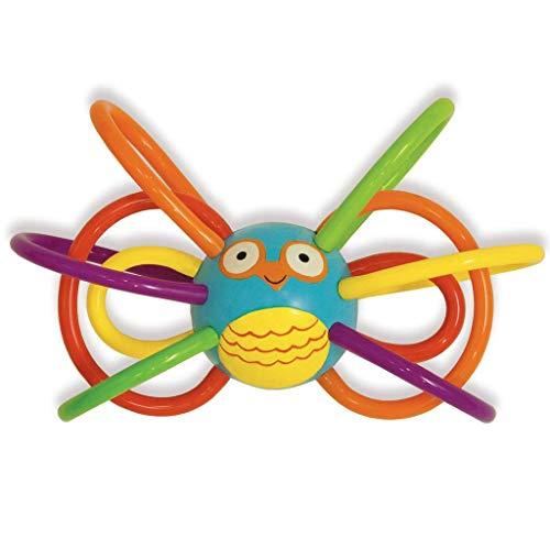 Manhattan Toy Jouet de Premier Age - Zoo Winkels Hibou