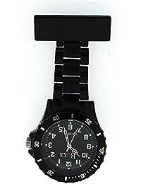 BOXX Classic Black Rotating Bezel Nurses Fob Watch BOXX31