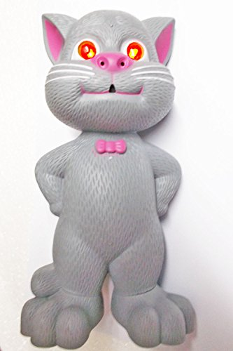 Tukknu Talking Tom Interactive Toy Talks Back Mimicry Cat Copy Voice Pet Gift