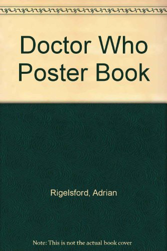 Doctor Who poster book