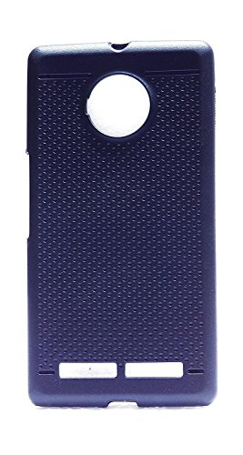 Micromax YU Yuphoria YU5010 Premium Dotted Design Soft Rubberised Back Cover Easily Apllied and Removed
