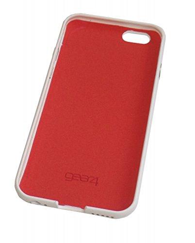 Gear4 Soft Case Schutzhülle Cover für iPhone 6/6S - Schwarz/Limette Weiß/Orange
