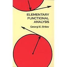 Elementary Functional Analysis (Dover Books on Mathematics) (English Edition)
