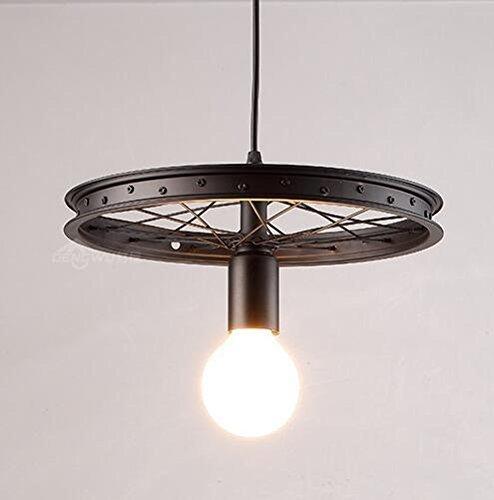 Wcz illuminazione decorativa personalizzata lampada americana lampada abitacolo soggiorno camera da letto pranzo portico scale orientale mediterraneo stile nordico viti in ferro battuto lampadario d