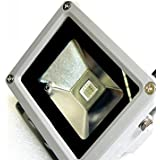 E9Q 20W Nuevo Blanco Exterior IP65 RGB Impermeable Color Cambiar LED Proyector