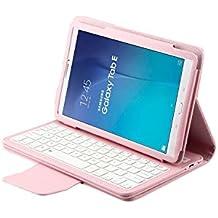 kvago tastiera Bluetooth Wireless removibile cover shell tastiera QWERTY Elegante